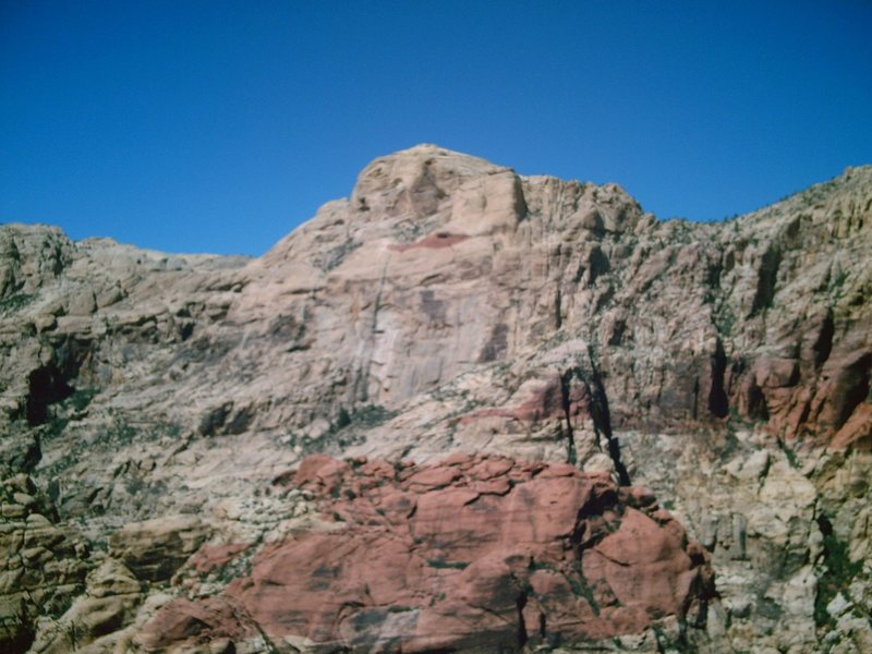Rock Climbing Photo: A photo from the upper reaches of the South fork o...