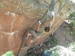 Rock Climbing Photo: -