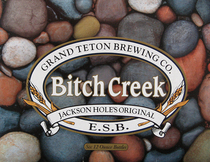 When in The Tetons, try Bitch Creek ESB.<br> Photo by Blitzo.