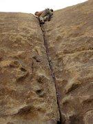Rock Climbing Photo: leading Gem.