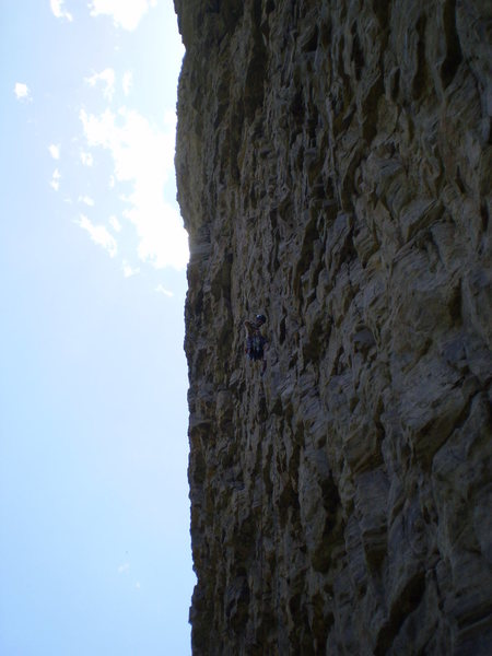 Rock Climbing Photo: same cliff, different route...???