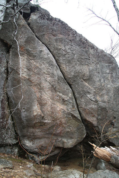 Rock Climbing Photo: a better overview of the route