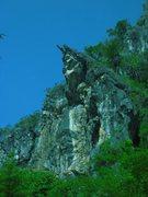 Rock Climbing Photo: Crazy horse