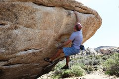 Rock Climbing Photo: Spring and grab - done.