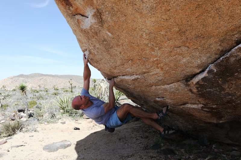 Mike midway through Mouse in the House, V6