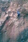 Rock Climbing Photo: Back in the day. This pic was taken around 1994.