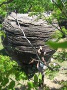 Rock Climbing Photo: Beautiful day...nice break from the monotony of I7...