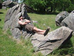 Rock Climbing Photo: Rock Hammock!
