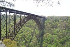 Rock Climbing Photo: NRG bridge from Bridge Buttress