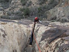 Rock Climbing Photo: The upper crack