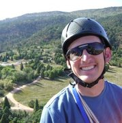 Rock Climbing Photo: on top of Montazuma's tower in Garden of the Gods