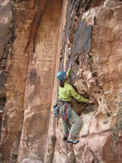Rock Climbing Photo: Right before I found myself in this position, the ...