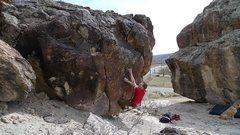 Rock Climbing Photo: Razor Rock photo number two.