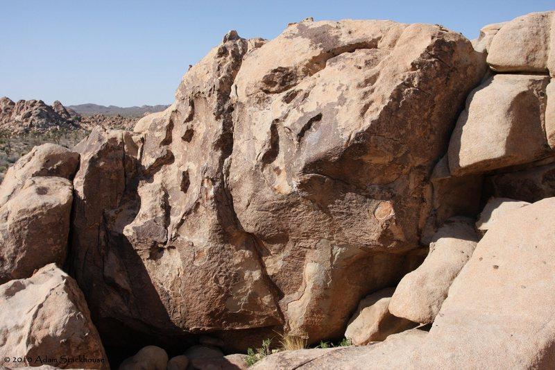 Rock Climbing Photo: Lounge Boulder