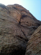 Rock Climbing Photo: I did not get a decent shot of the start. These im...