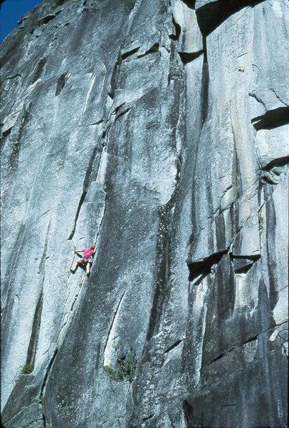 Rock Climbing Photo: Somewhere in rain country.