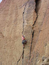 Rock Climbing Photo: an easy one