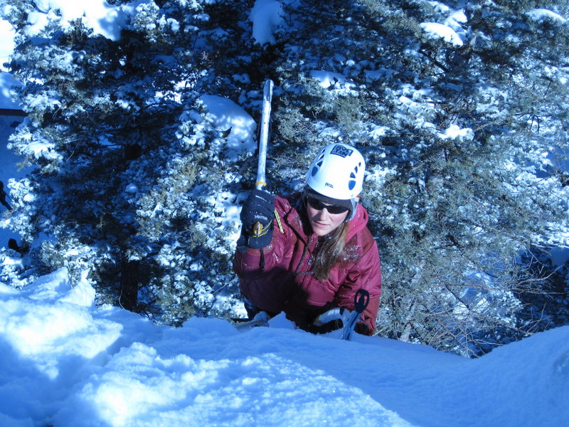Rock Climbing Photo: Ice climbing Ouray