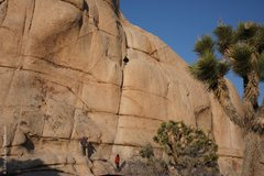 Rock Climbing Photo: Rope Drag anyone?  Obviously not the Direct versio...