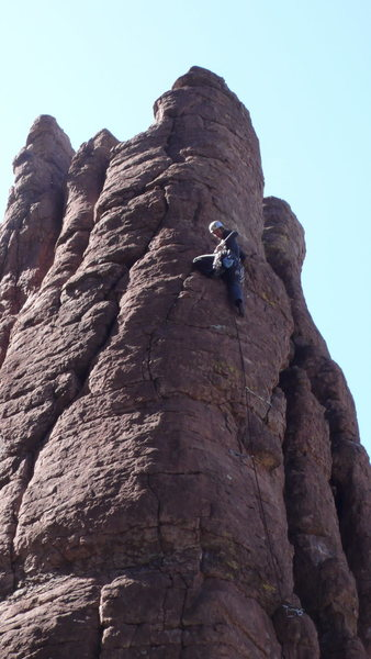 Rock Climbing Photo: Yes! Just a few more pieces now ...