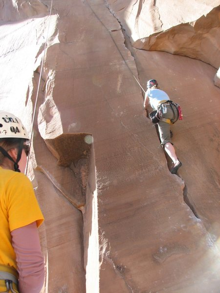 Rock Climbing Photo: more Flakes of Wrath