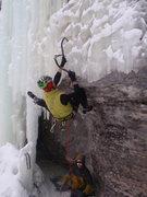 Rock Climbing Photo: Fine footwork.