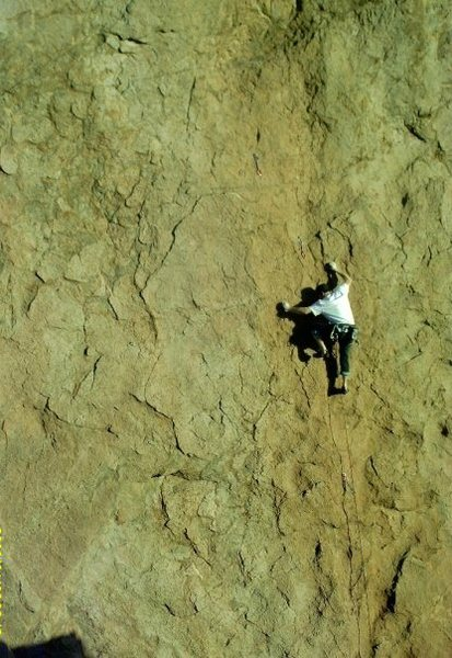 Cochise Stronghold sport climbing