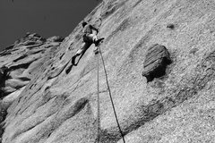 Rock Climbing Photo: This climb is brought to you in part due to genero...