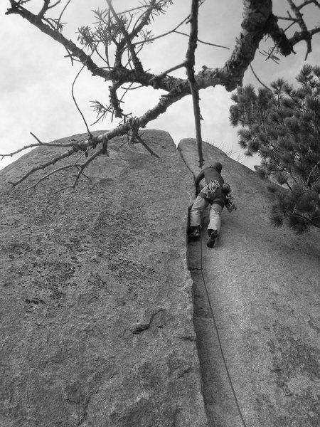 Rock Climbing Photo: So good.