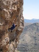 Rock Climbing Photo: Jimbo starting up SPF 12