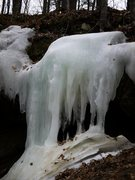 Rock Climbing Photo: Cool ice downstream from Stephen's Falls. March 20...