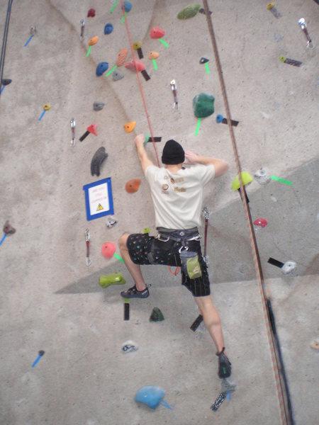 weird 5.9 at Climb Iowa