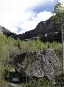 Rock Climbing Photo: Lexi Tuddenham 'Gravity's Rainbow' (V2+).