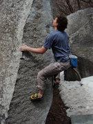 Rock Climbing Photo: Surfboard Arete, spring 2009