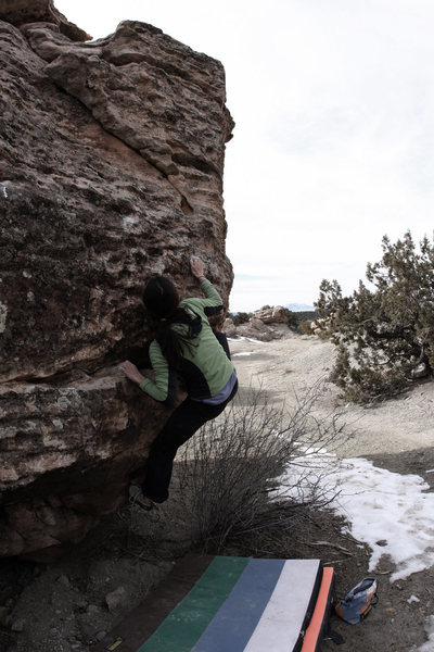 Lexi Tuddenham 'Nor'easter' (V0+).