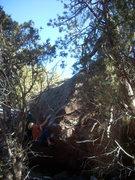 Rock Climbing Photo: Dissociation of Personality (V7ish).