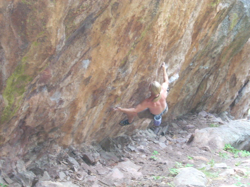 Rock Climbing Photo: Avs Traverse, V12.