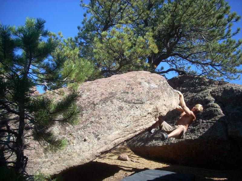 Rock Climbing Photo: Scooter, V6.