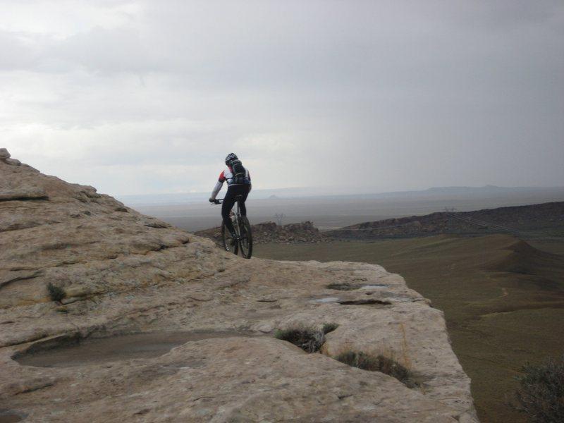 Rock Climbing Photo: Dine' land, NM.