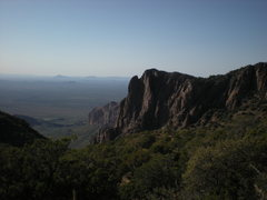 Rock Climbing Photo: Looking out at the reservation from the Western ap...