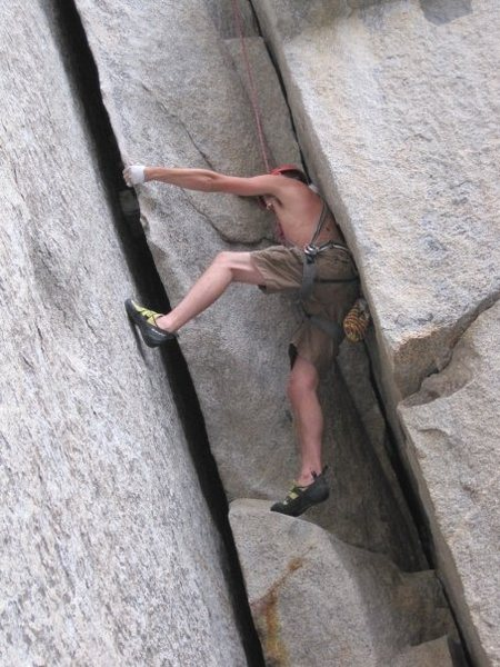 Rock Climbing Photo: fun chimney
