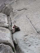 Rock Climbing Photo: was a little rough for my second lead in the valle...