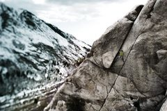 Rock Climbing Photo: A better image of the route from over on the &quot...