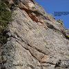 Salt Block Rock moderate topo.