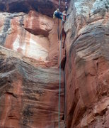 Rock Climbing Photo: Tyler peeling off a big block