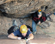 Rock Climbing Photo: Eric Ruljancich becomes a Javelina Hardman