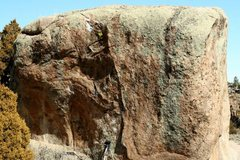 Rock Climbing Photo: This is the side with the problem, on the other si...