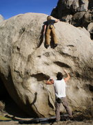 Rock Climbing Photo: Secrets of the Beehive area, Bishop