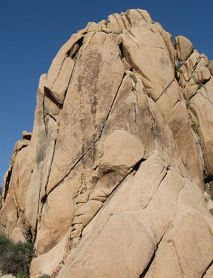 Rock Climbing Photo: Follow the obvious diagonal crack. Photo by Blitzo...