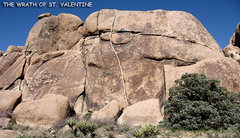 """Rock Climbing Photo: """"The Wrath Of St. Valentine"""". Photo by B..."""
